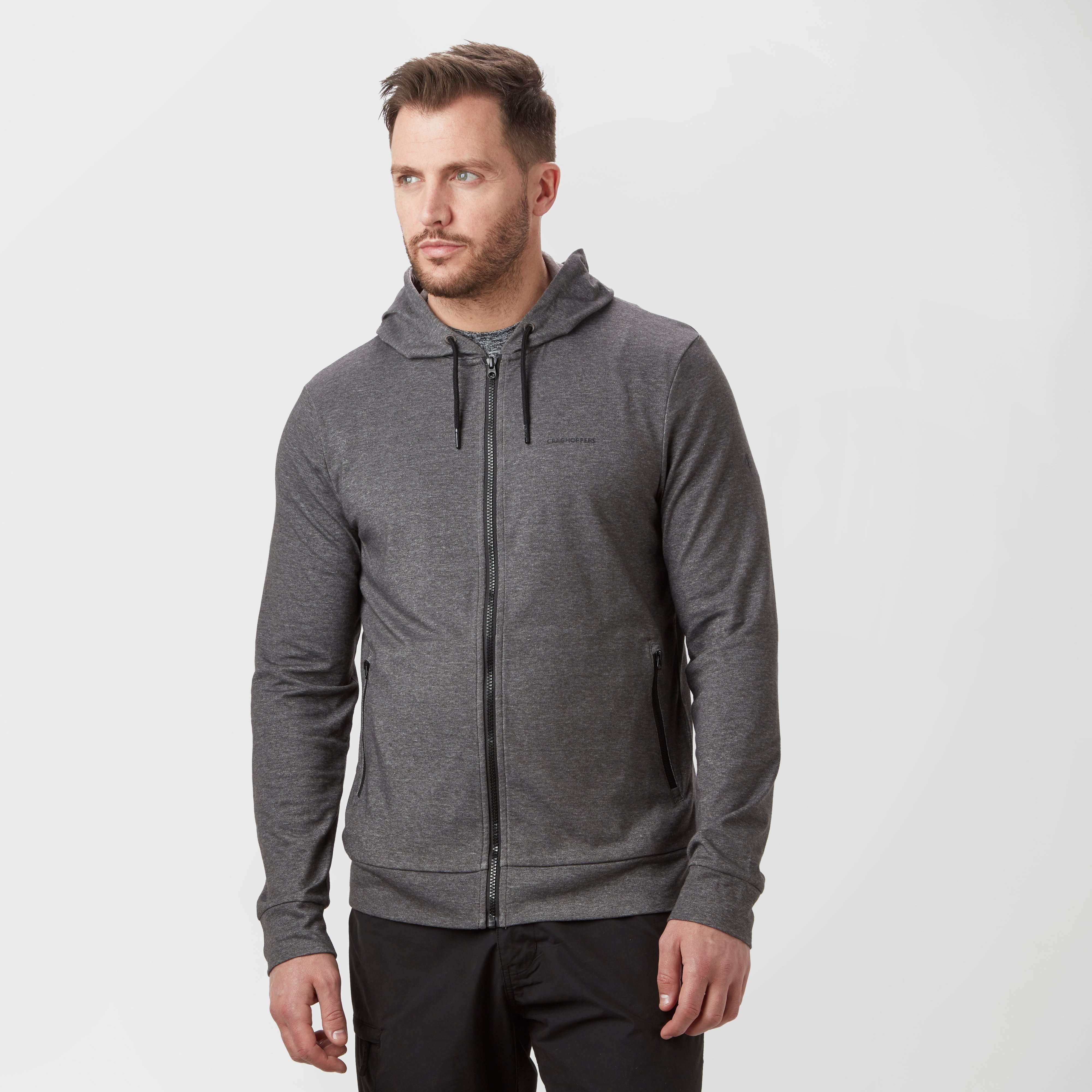 CRAGHOPPERS Men's Nosilife Tilpa Hooded Fleece Jacket