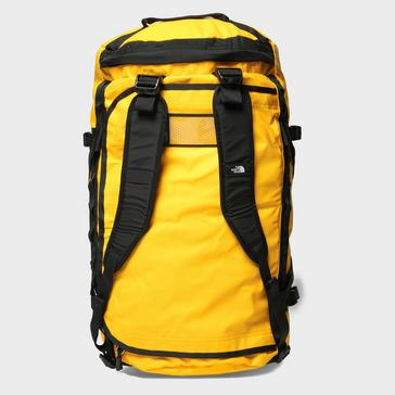Yellow The North Face Base Camp Duffel Bag (Large)