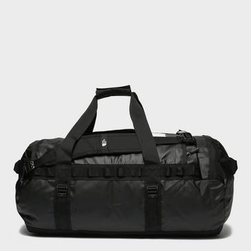 Black The North Face Base Camp Duffel Bag (Medium)
