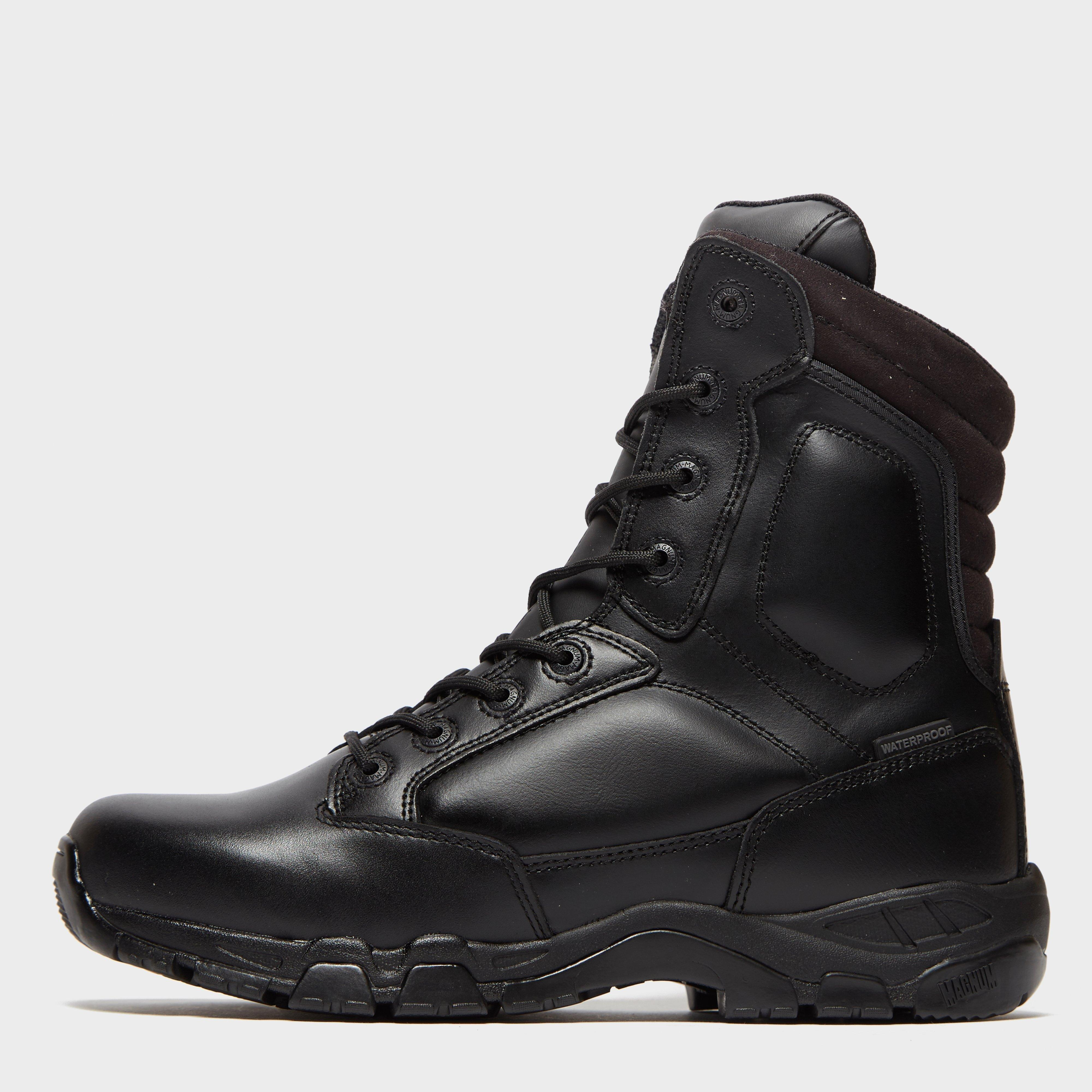 magnum Magnum Mens Viper Pro Waterproof All Leather Work Boot - Black, Black