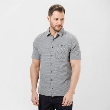 Grey Grey The North Face Men's Short Sleeve Hypress Shirt