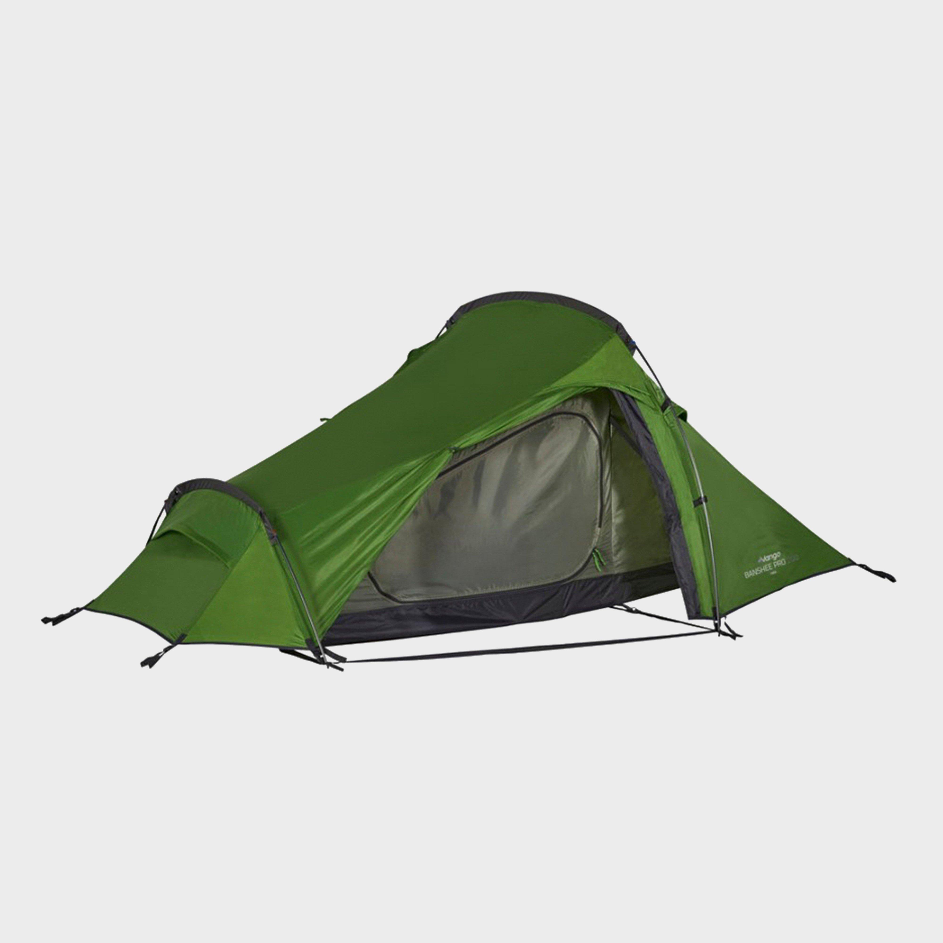 Dark Green VANGO Banshee Pro 200 & Lightweight Backpacking Tents   Travel Tents   Blacks