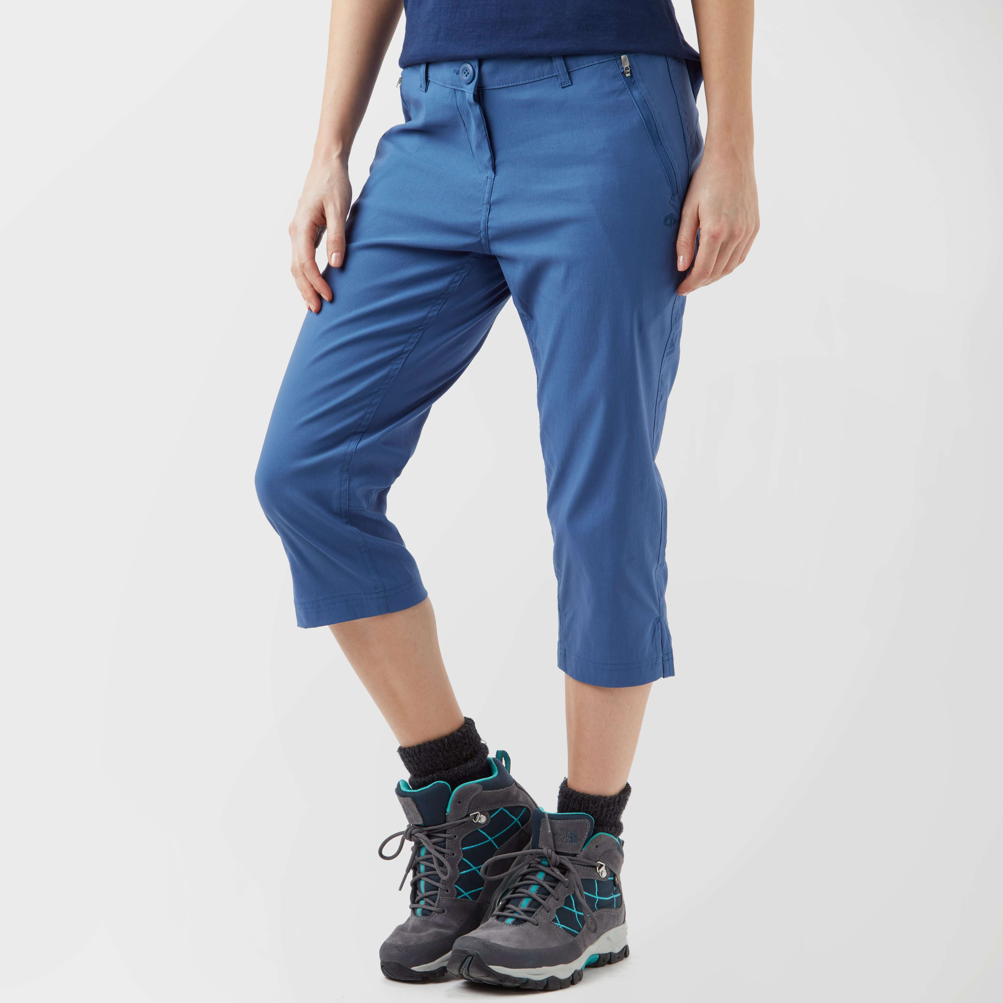 CRAGHOPPERS Women's Kiwi Pro Crop Trousers