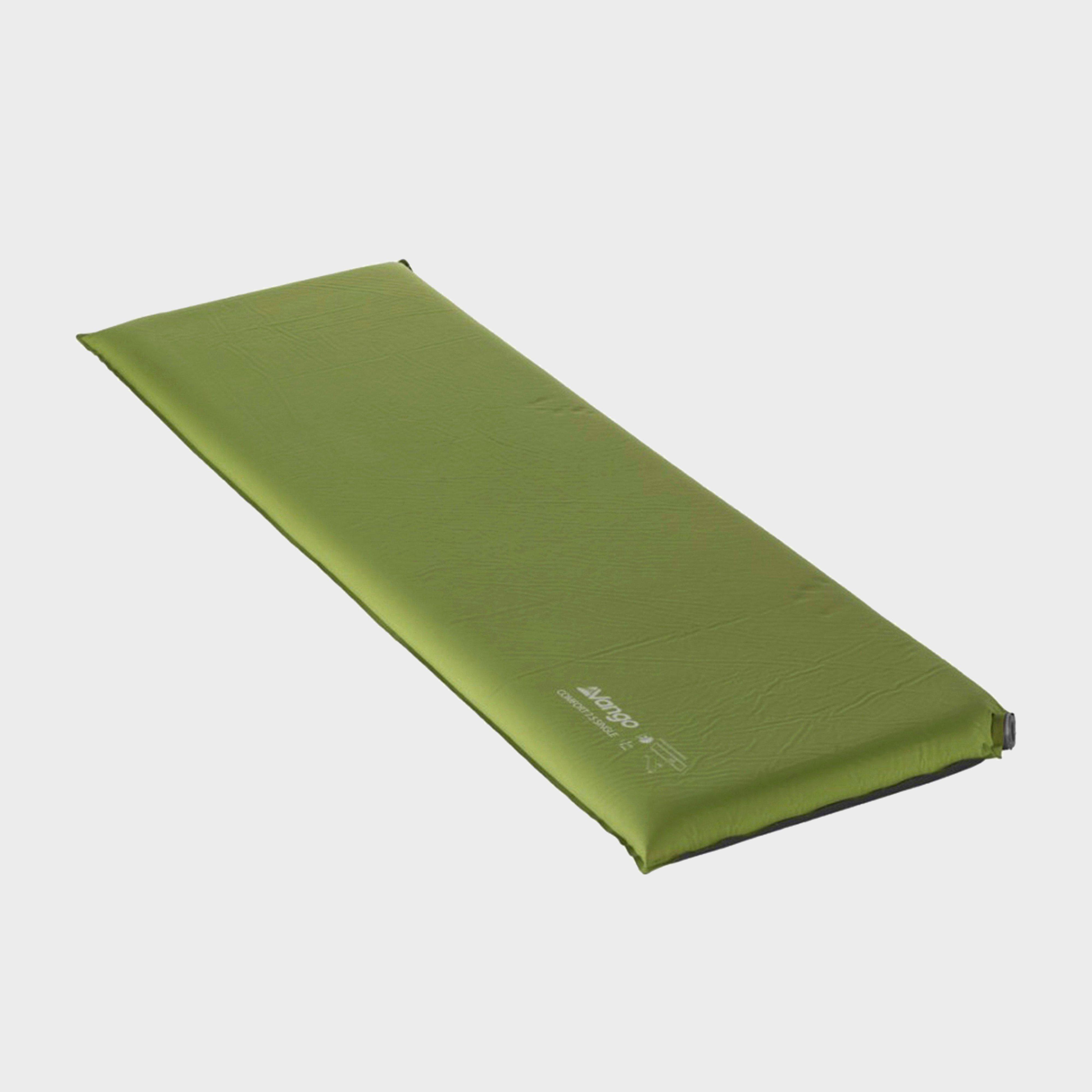 Vango Vango Comfort 7.5 Single Sleeping Mat - Green, Green