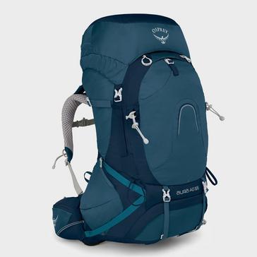 Blue Osprey Women's Aura AG 65 Rucksack (S/M)
