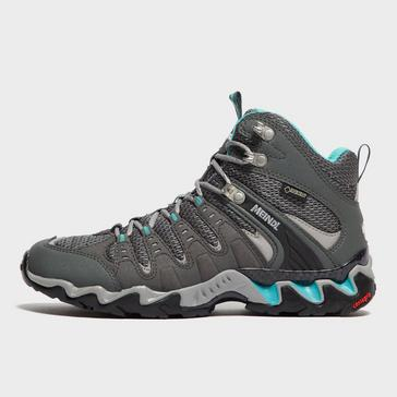 Grey|Grey Meindl Women's Respond GORE-TEX® Mid Boots