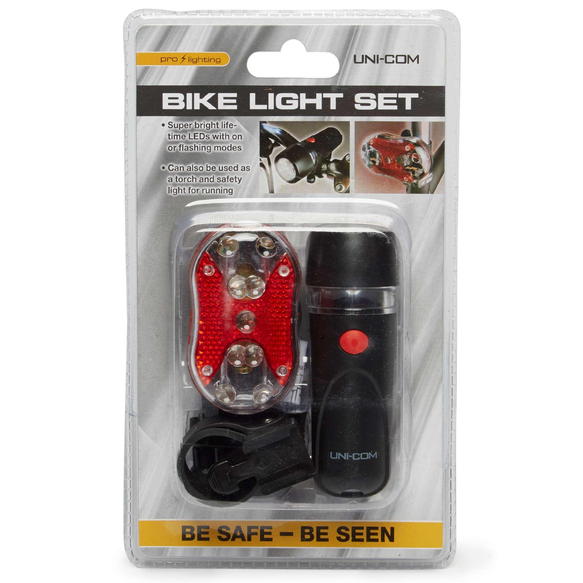 UNICOM Bike Light Set