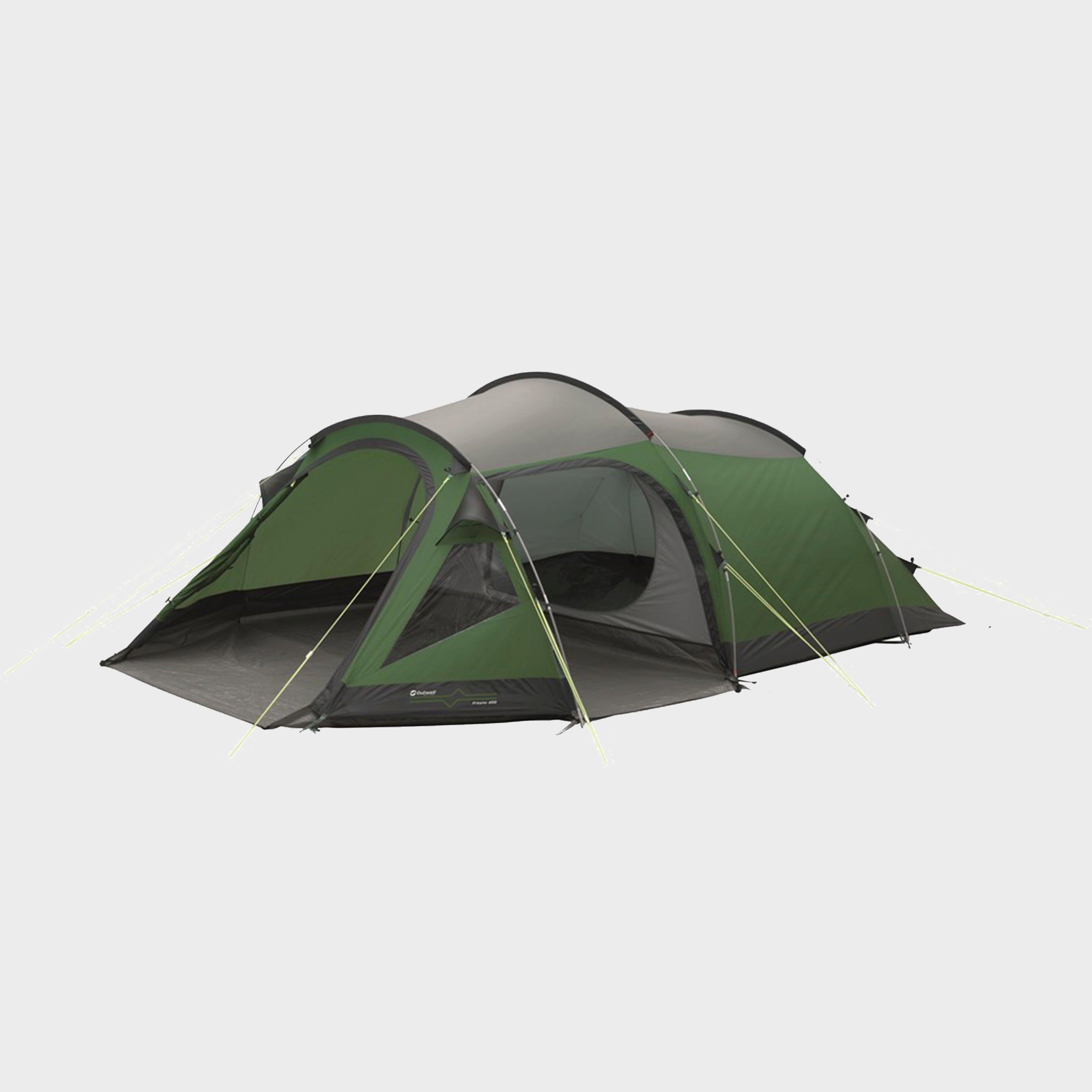 OUTWELL Fresno 400 4 Person Tent & Equipment | Family Tents | Ultimate Outdoors