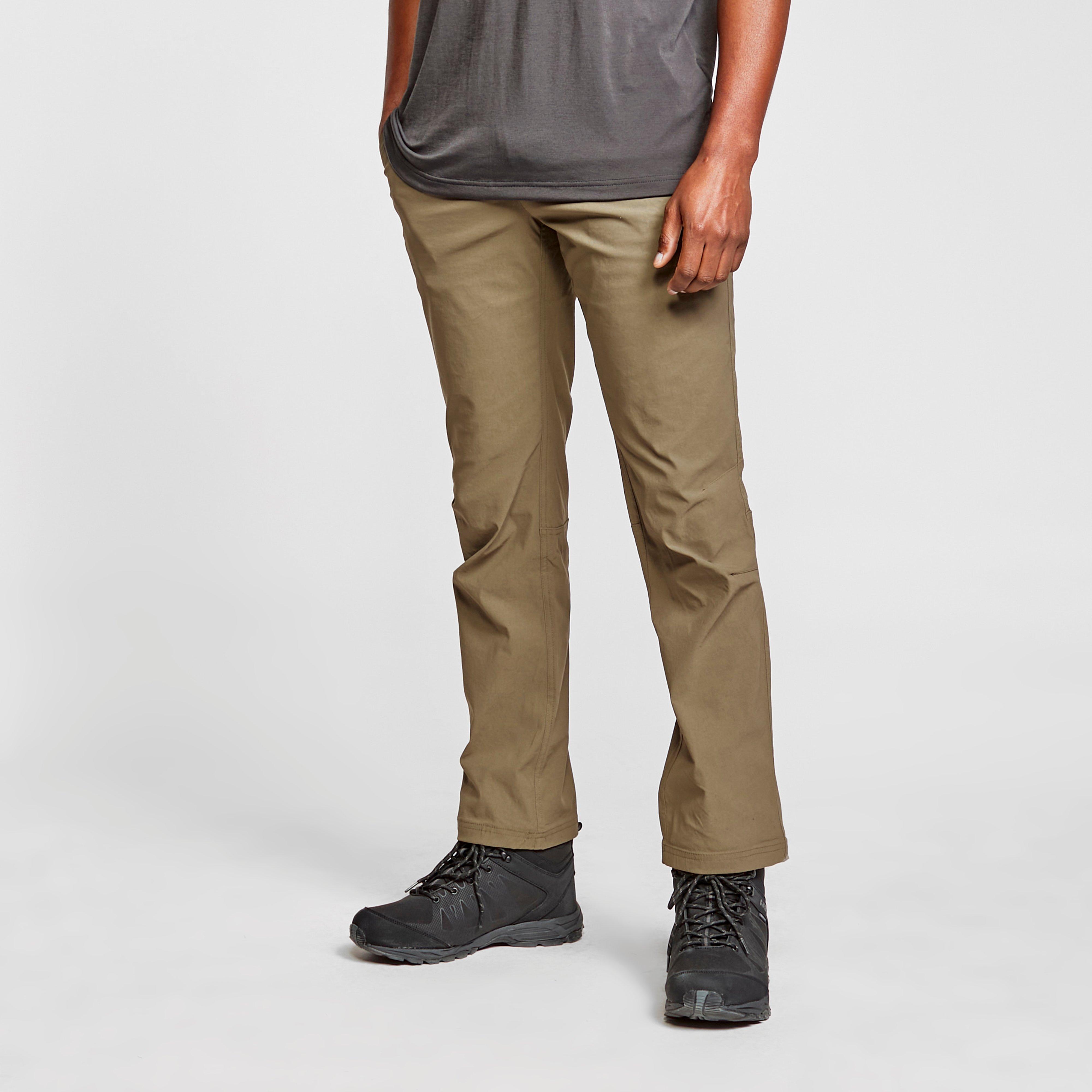 Brasher Brasher Mens Stretch Trousers - Khaki, Khaki