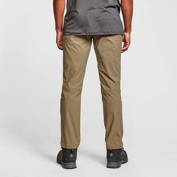 Khaki Brasher Men's Stretch Walking Trousers