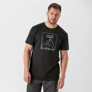 JACK WOLFSKIN Men's Peak Short Sleeve T-shirt