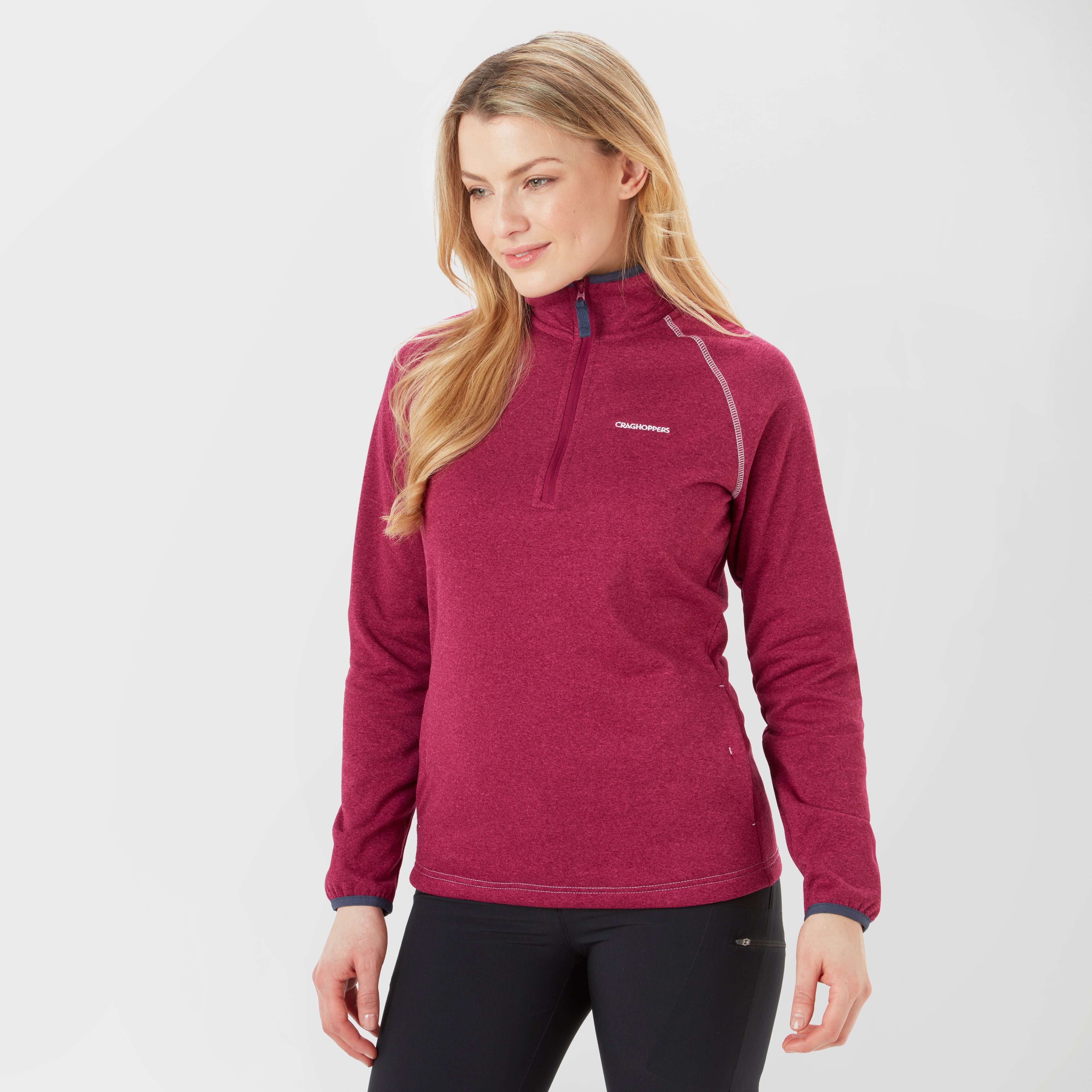 CRAGHOPPERS Women's Roxburgh Half Zip Fleece