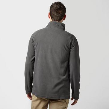 Grey|Grey Peter Storm Men's Ullswater Half Zip Fleece