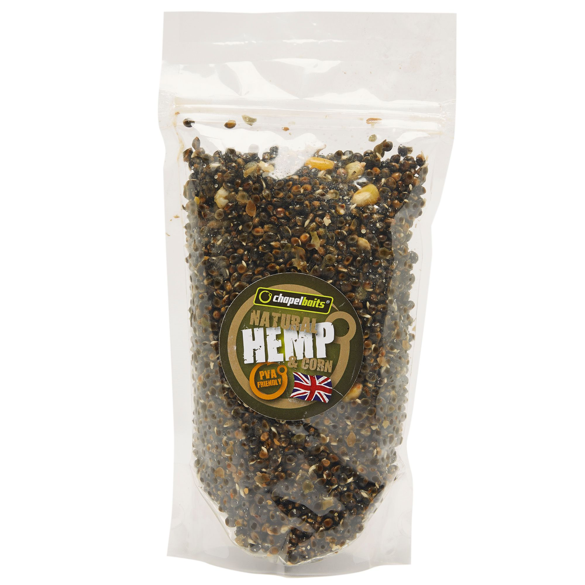 CHAPEL BAITS Corn and Hemp Particles