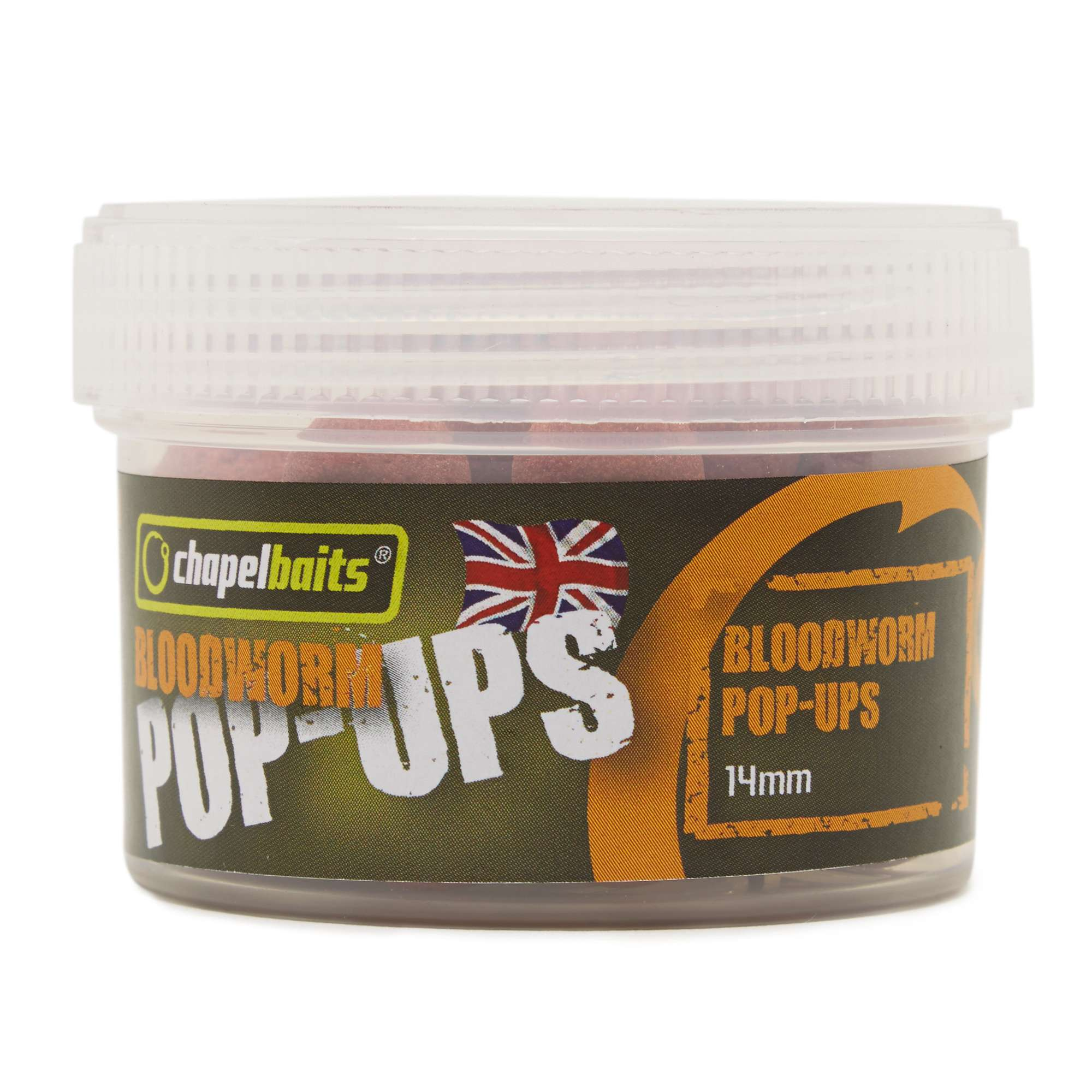 CHAPEL BAITS Bloodworm Pop-Ups Session Pack, 14mm