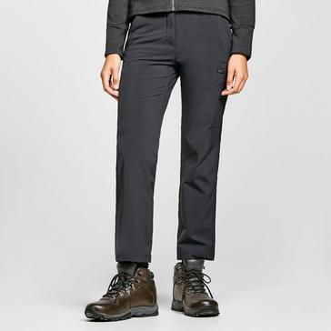 Black Peter Storm Women's Stretch Roll Up Walking Trousers