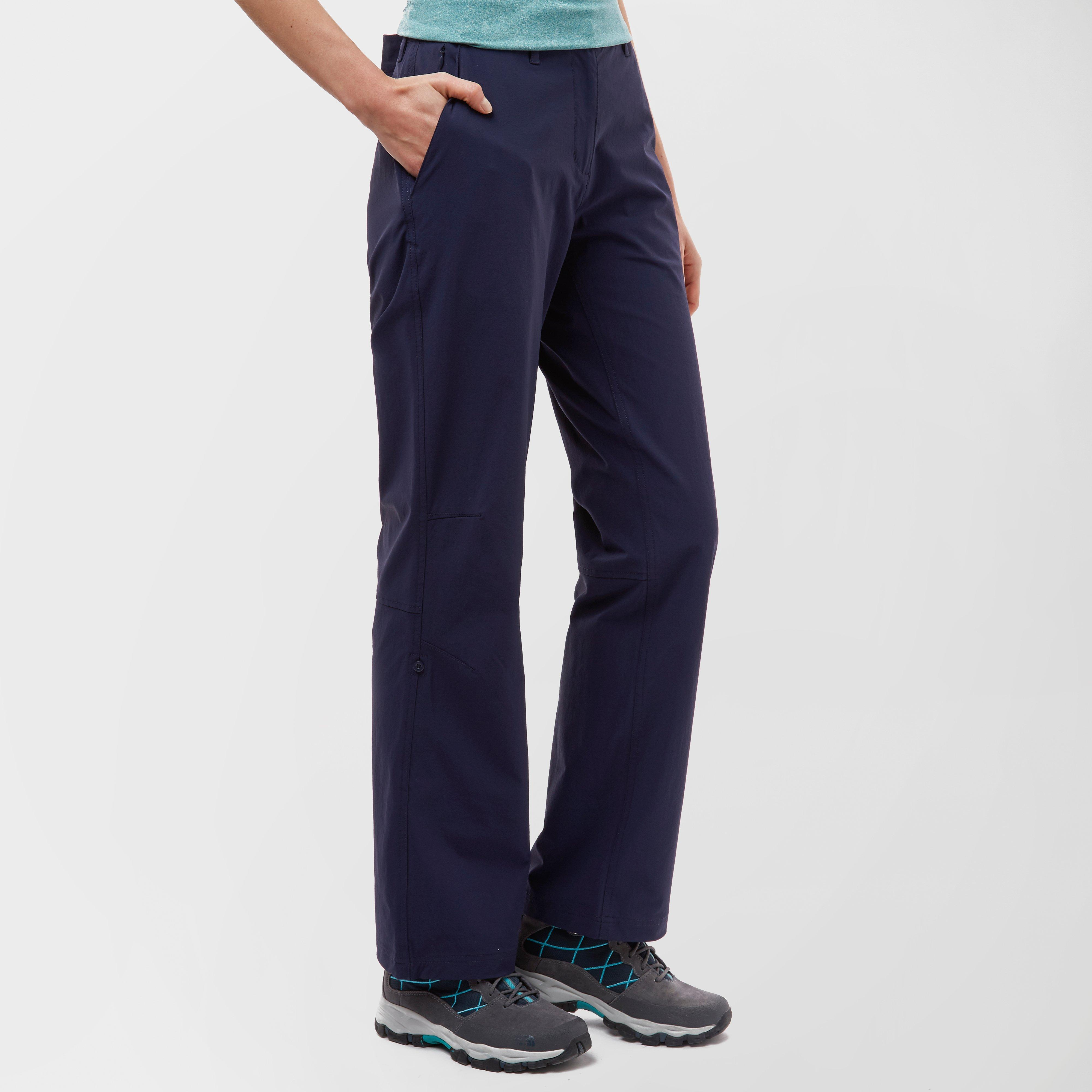Peter Storm Peter Storm womens Stretch Roll-Up Trousers - Navy, Navy