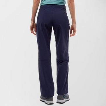 Navy Peter Storm Women's Stretch Roll Up Walking Trousers