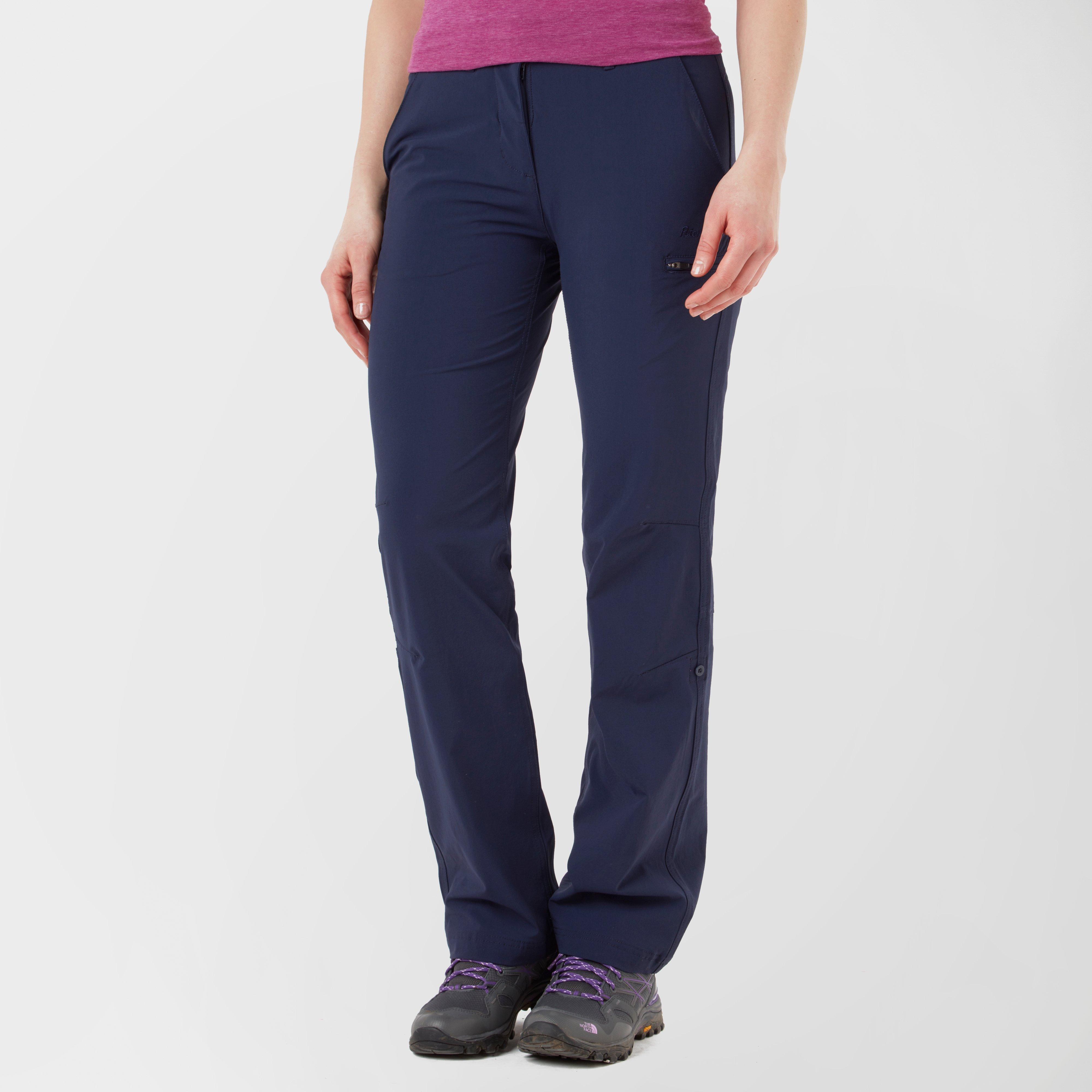 Peter Storm Peter Storm womens Hike Stretch Roll-Up Pant - Navy, Navy