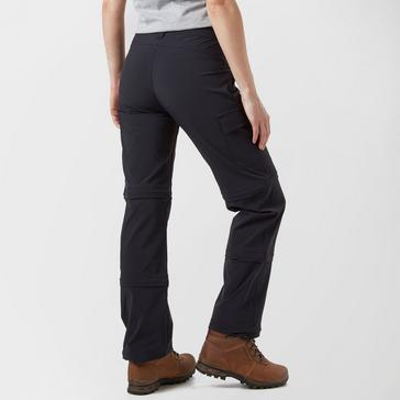 Black Peter Storm Women's Stretch Double Zip Off Trousers
