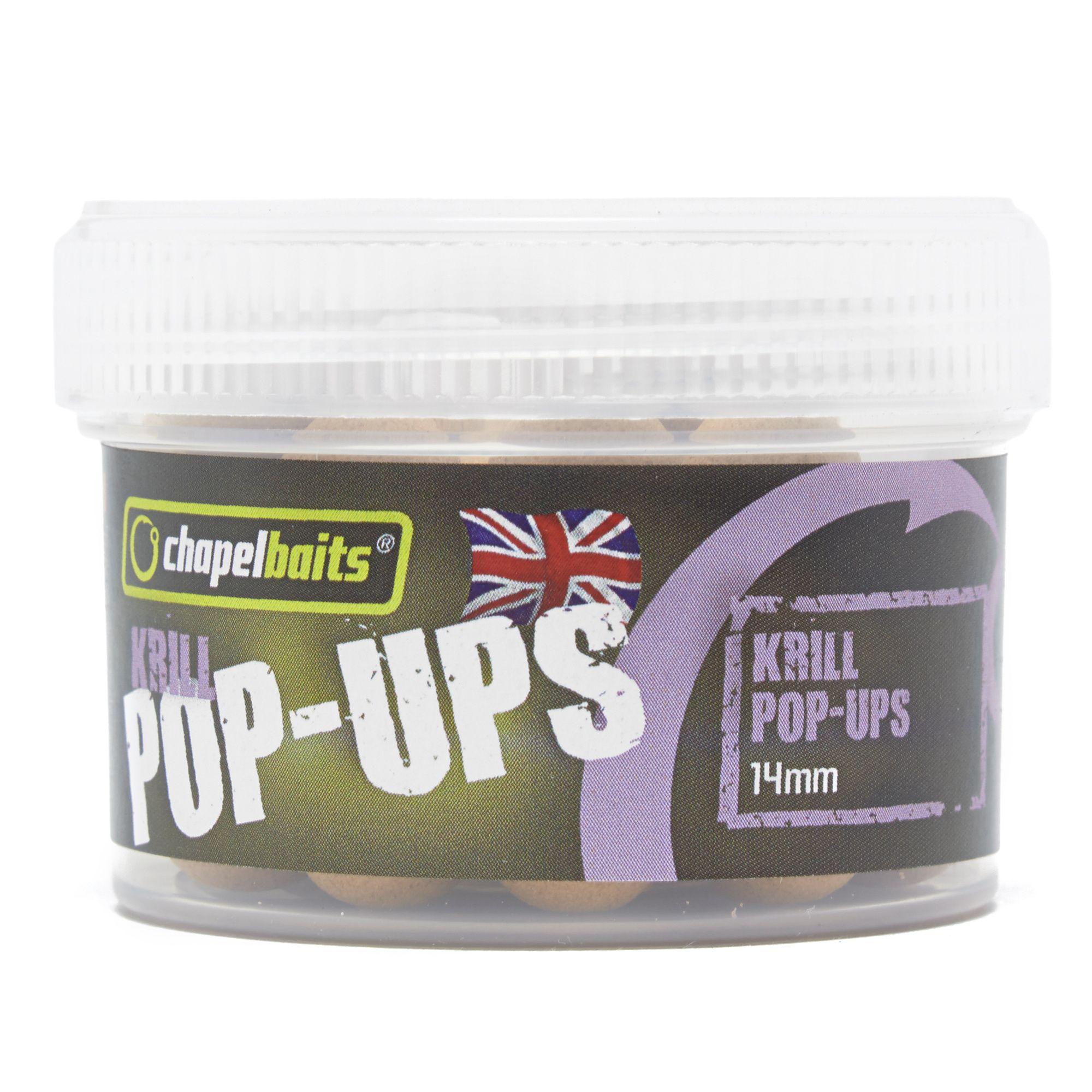 CHAPEL BAITS Krill Pop Ups Session Pack, 14mm