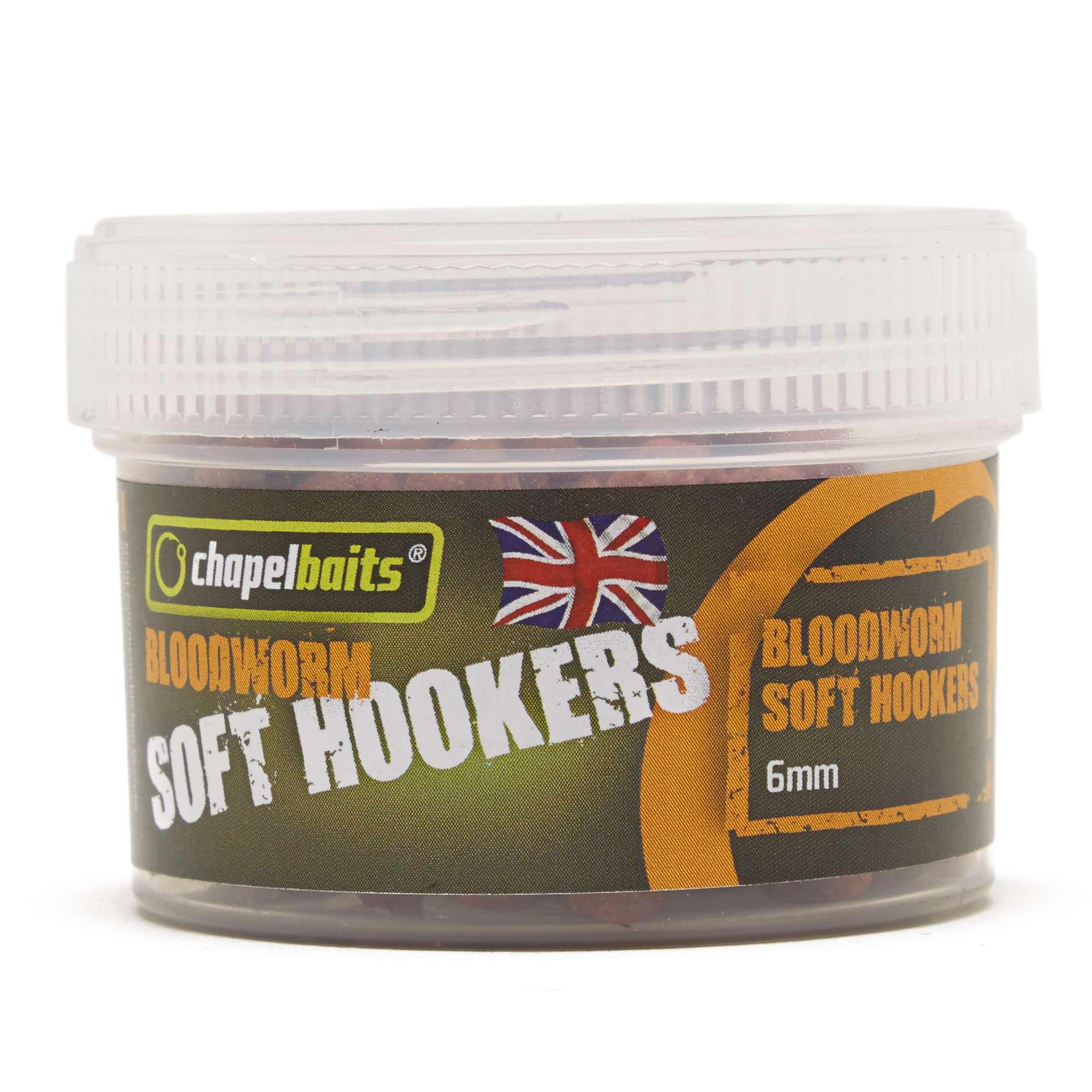 CHAPEL BAITS 6mm Soft Hooker Pellets, Bloodworm