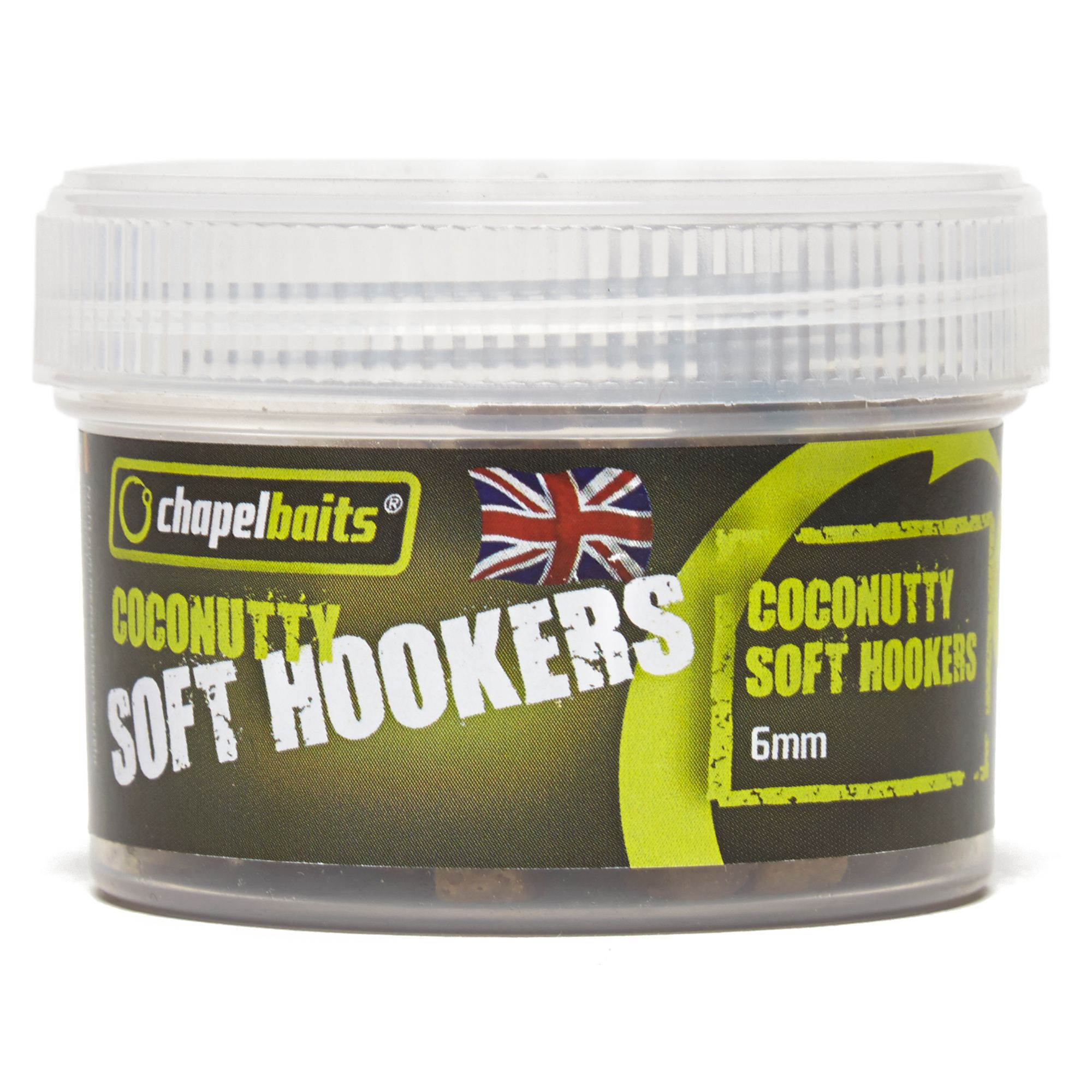 CHAPEL BAITS 6mm Soft Hooker Pellets, Coconutty