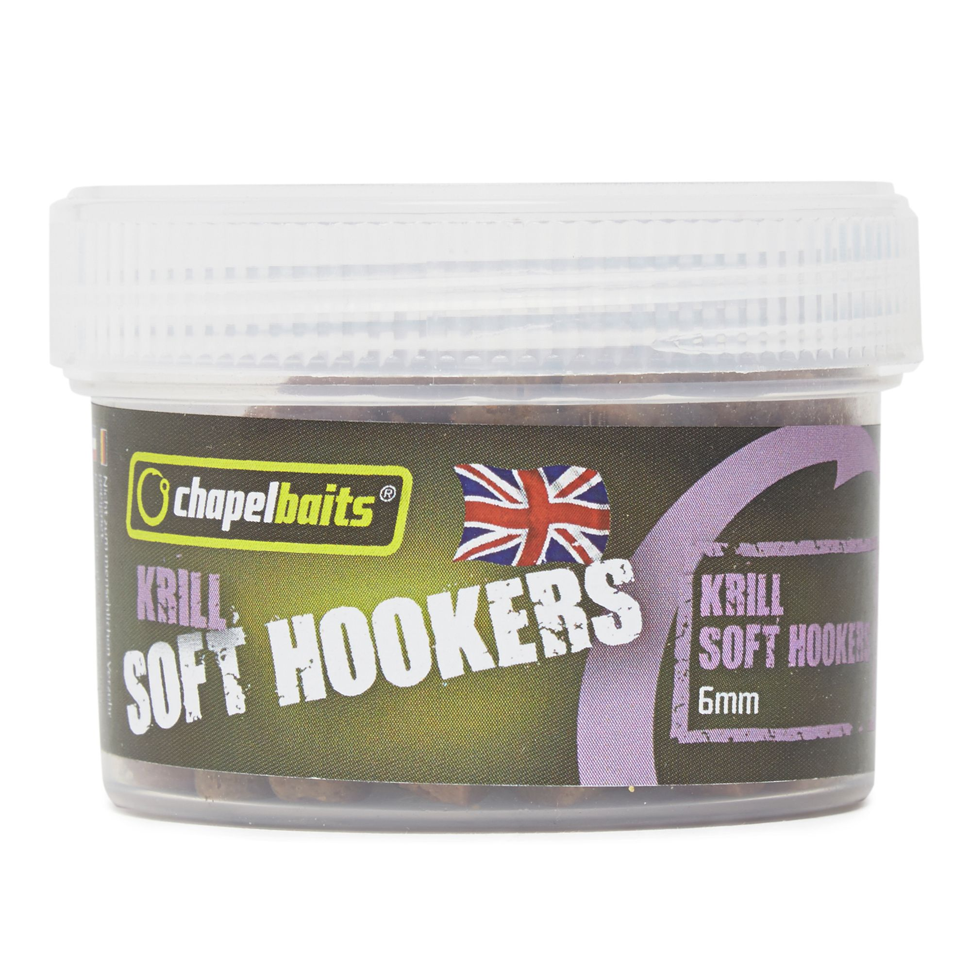 CHAPEL BAITS 6mm Soft Hooker Pellets, Krill
