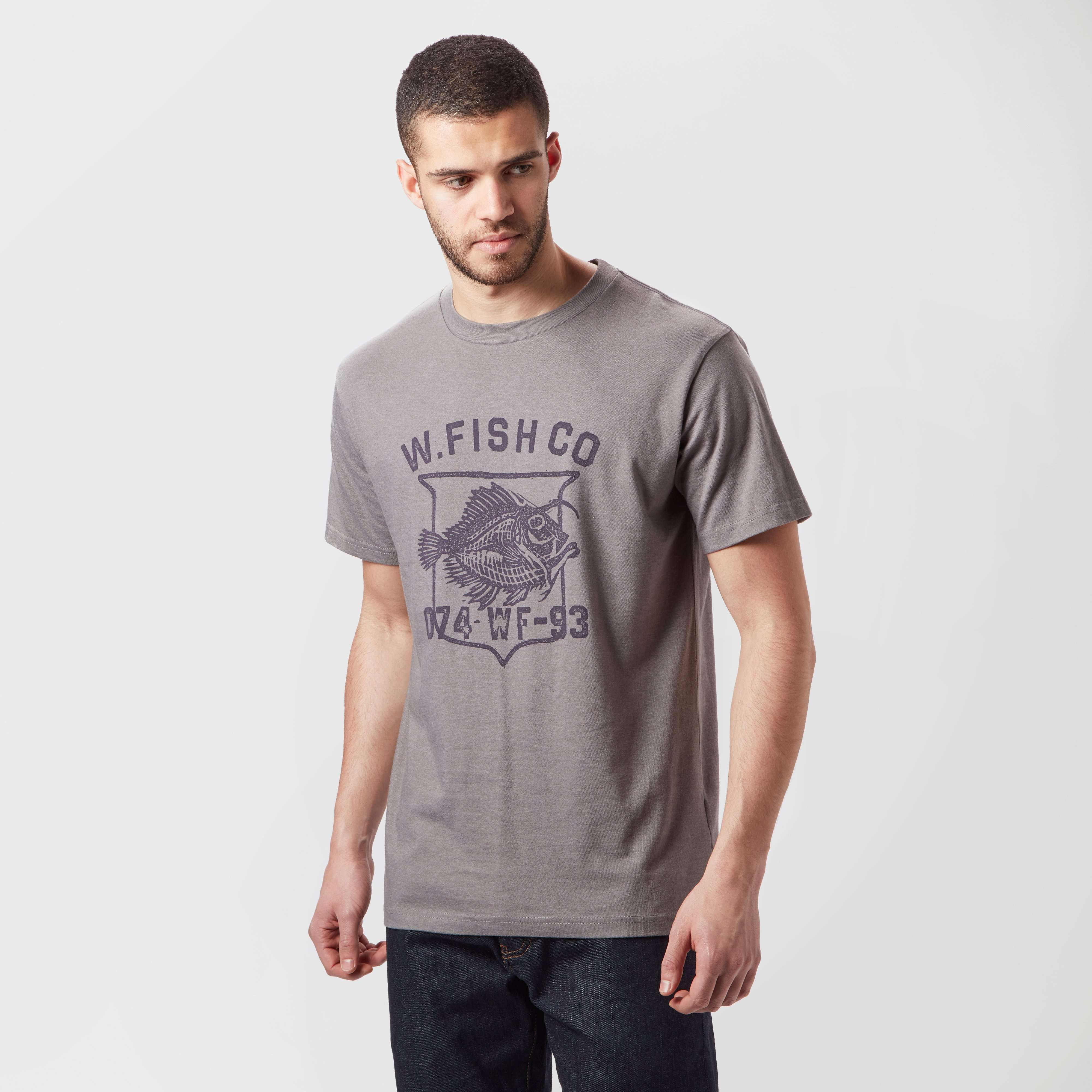 WEIRD FISH Men's Skeleton T-Shirt