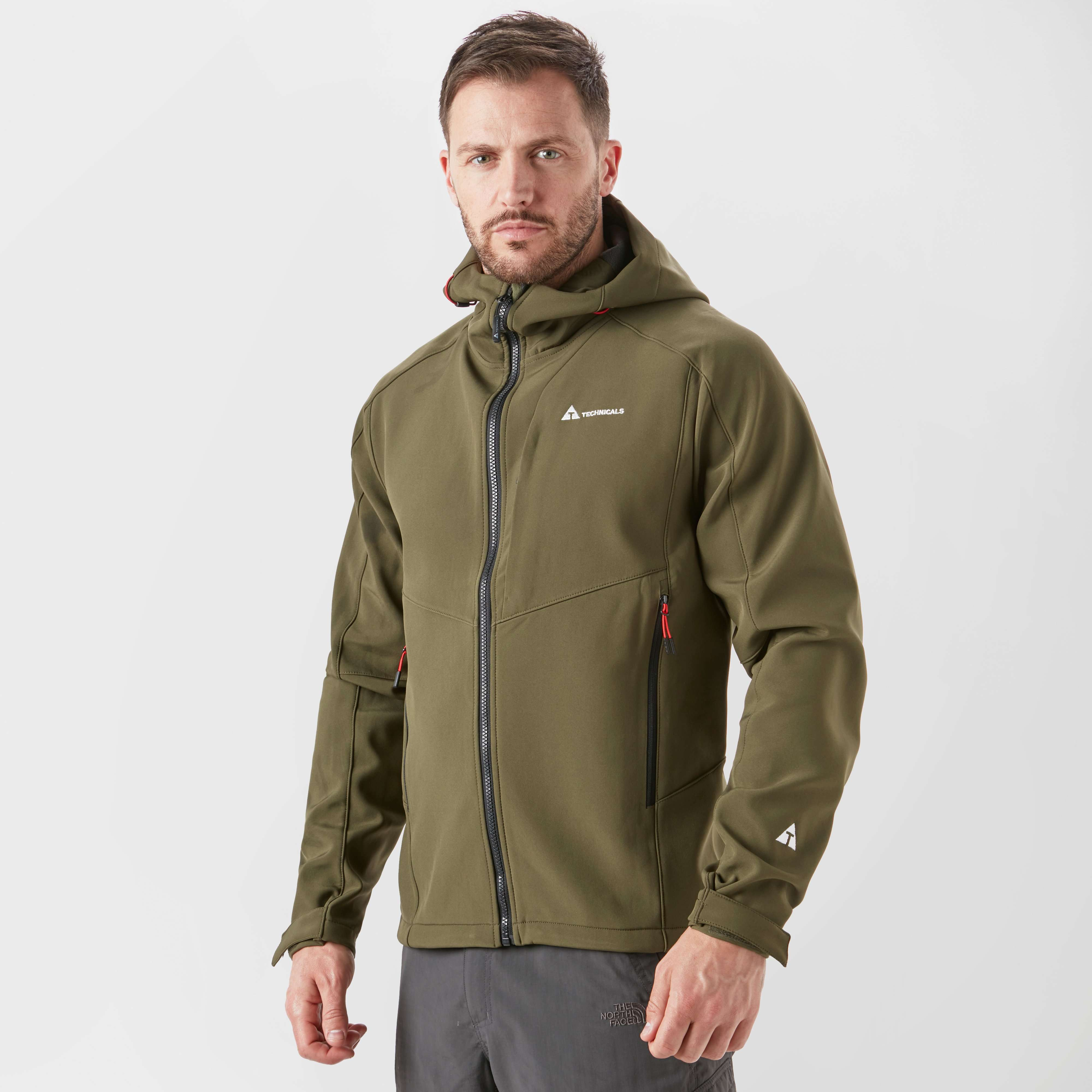 TECHNICALS Men's Force Softshell Jacket