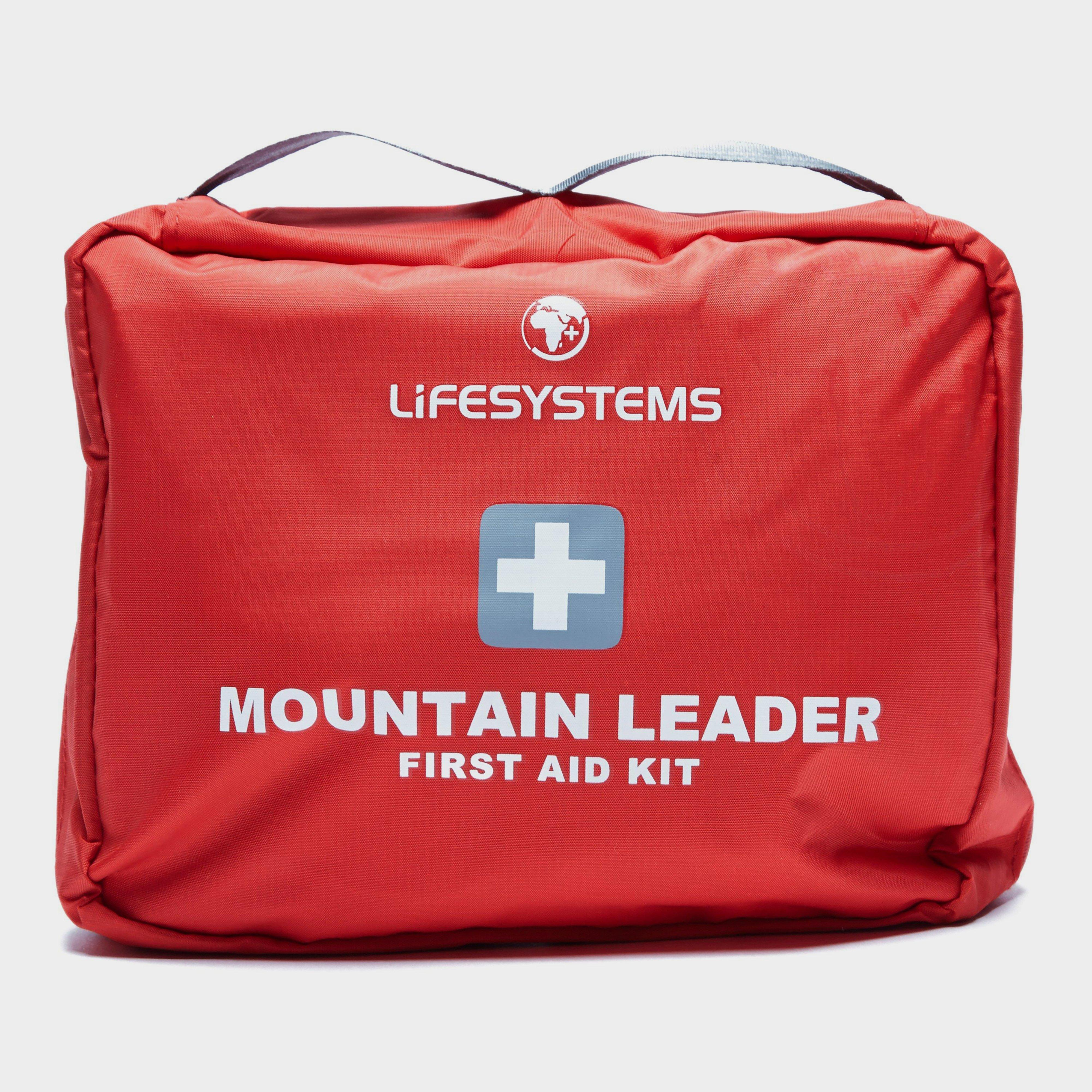 Lifesystems Lifesystems Mountain Leader First Aid Kit - Red, Red