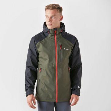 7a60e1574a1 Black TECHNICALS Men's Lightweight Waterproof Shell Jacket ...