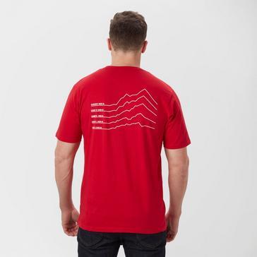 Red Peter Storm Men's Mile Back T-Shirt