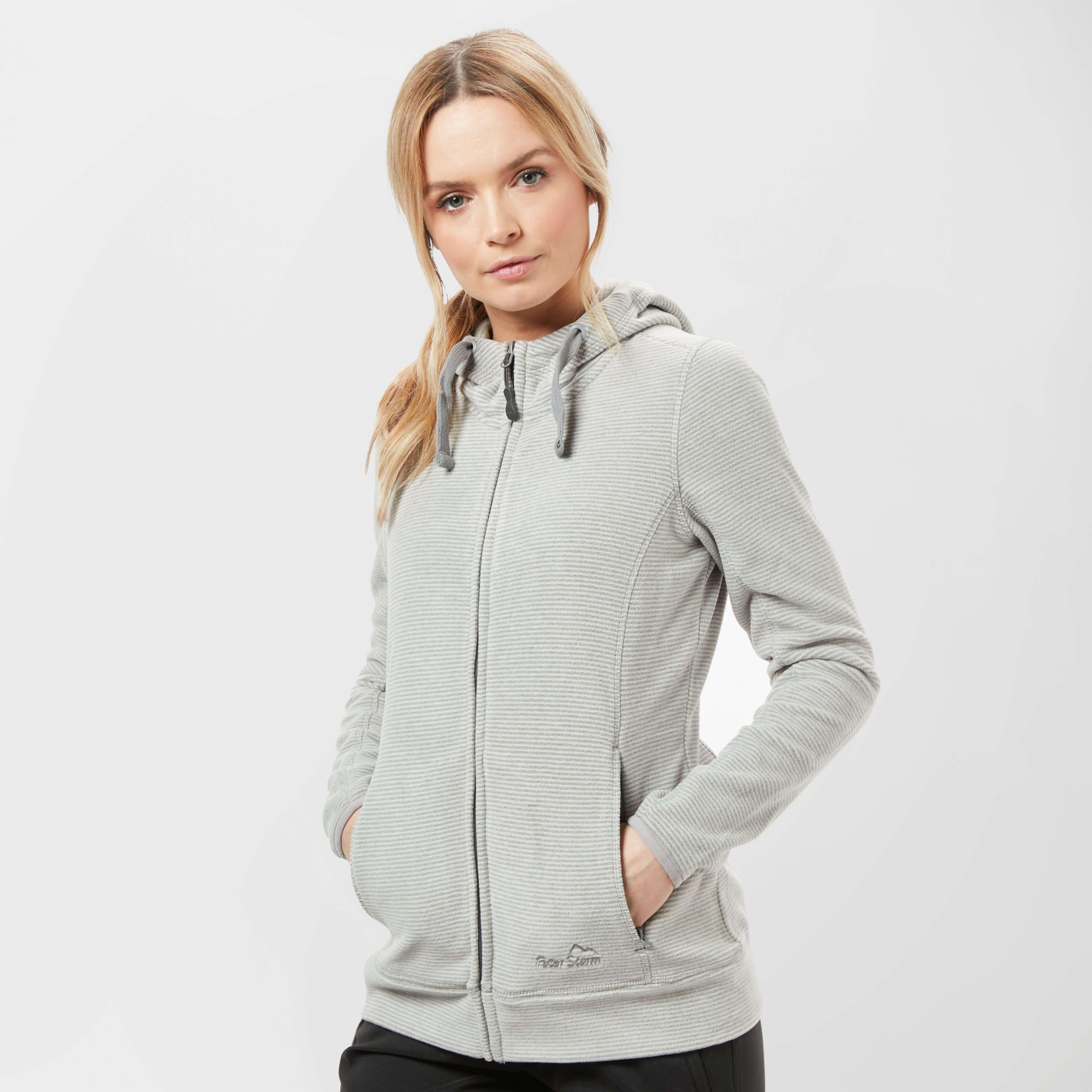 PETER STORM Women's Full Zip Striped Micro Fleece Jacket