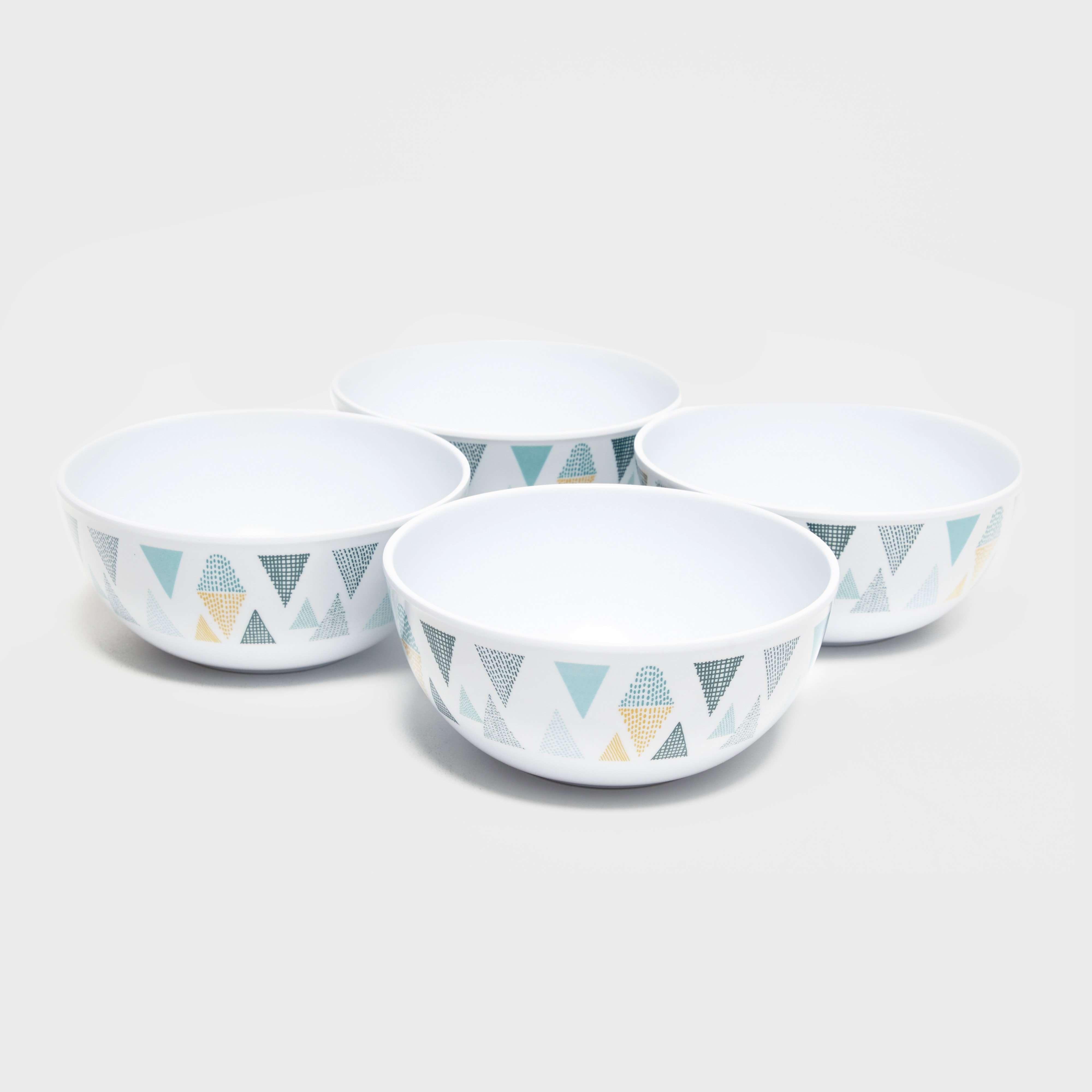 EUROHIKE Gio Triangle Bowls 4-Pack
