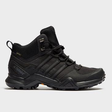 san francisco 8e899 dd761 Black adidas Mens Terrex Swift R2 Mid GORE-TEX® Shoes ...