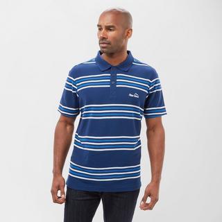 Men's Striped Polo Shirt