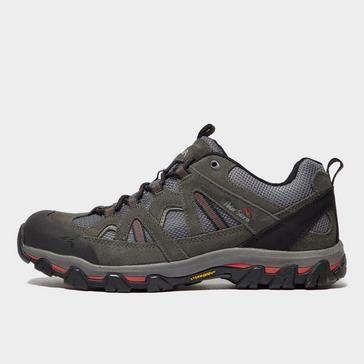 Grey|Grey Peter Storm Men's Arnside Vent Walking Shoe
