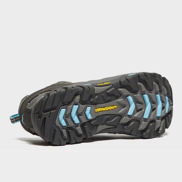 Grey|Grey Peter Storm Women's Arnside Vent Walking Shoe