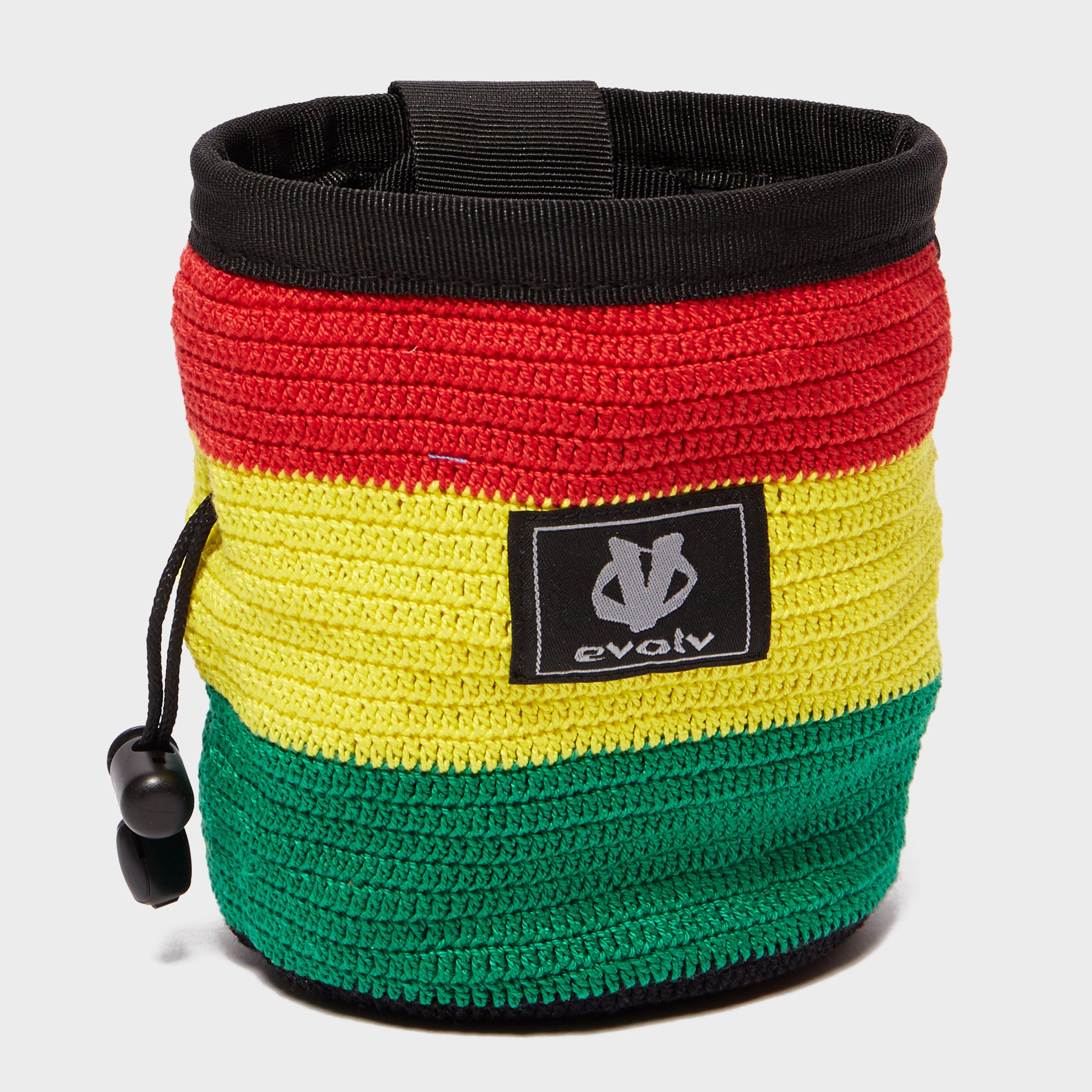 EVOLV Rasta Knit Chalk Bag