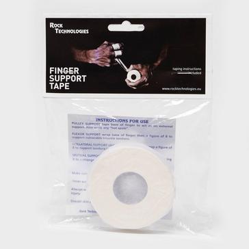 WHITE Rock Technologi Finger Support Tape 2.5cm x 10m