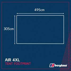 BERGHAUS Air 4XL Footprint