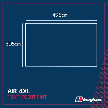 Black Berghaus Air 4XL Footprint
