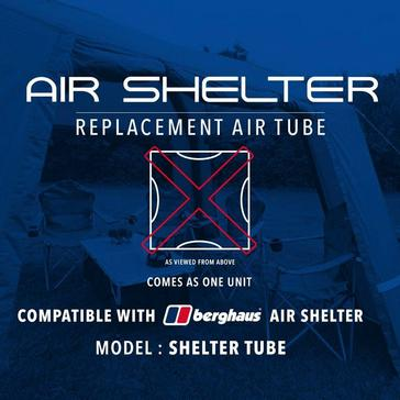 Black Eurohike Air Shelter Tube Replacement