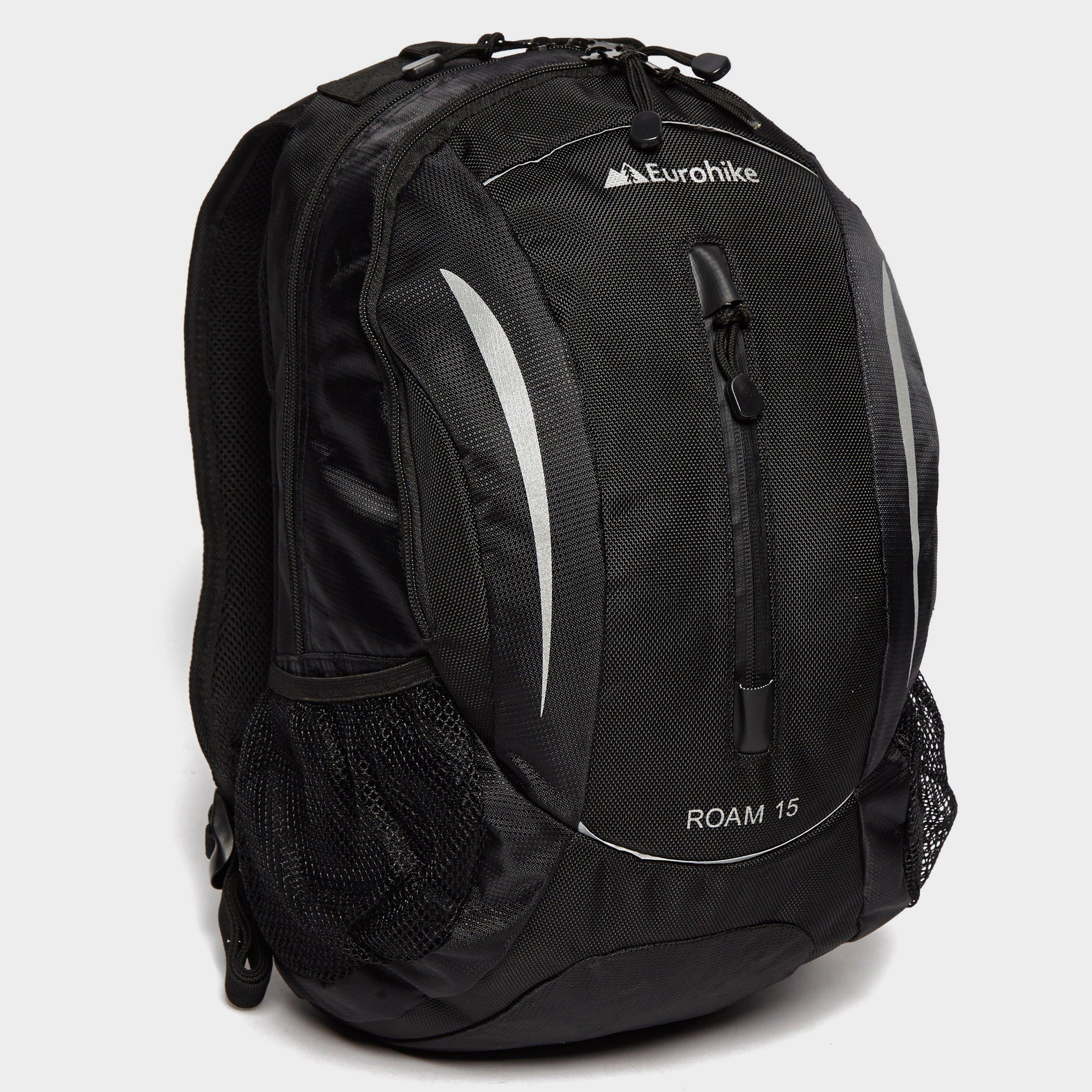 Eurohike Eurohike Roam 15L Daysack - Black, Black