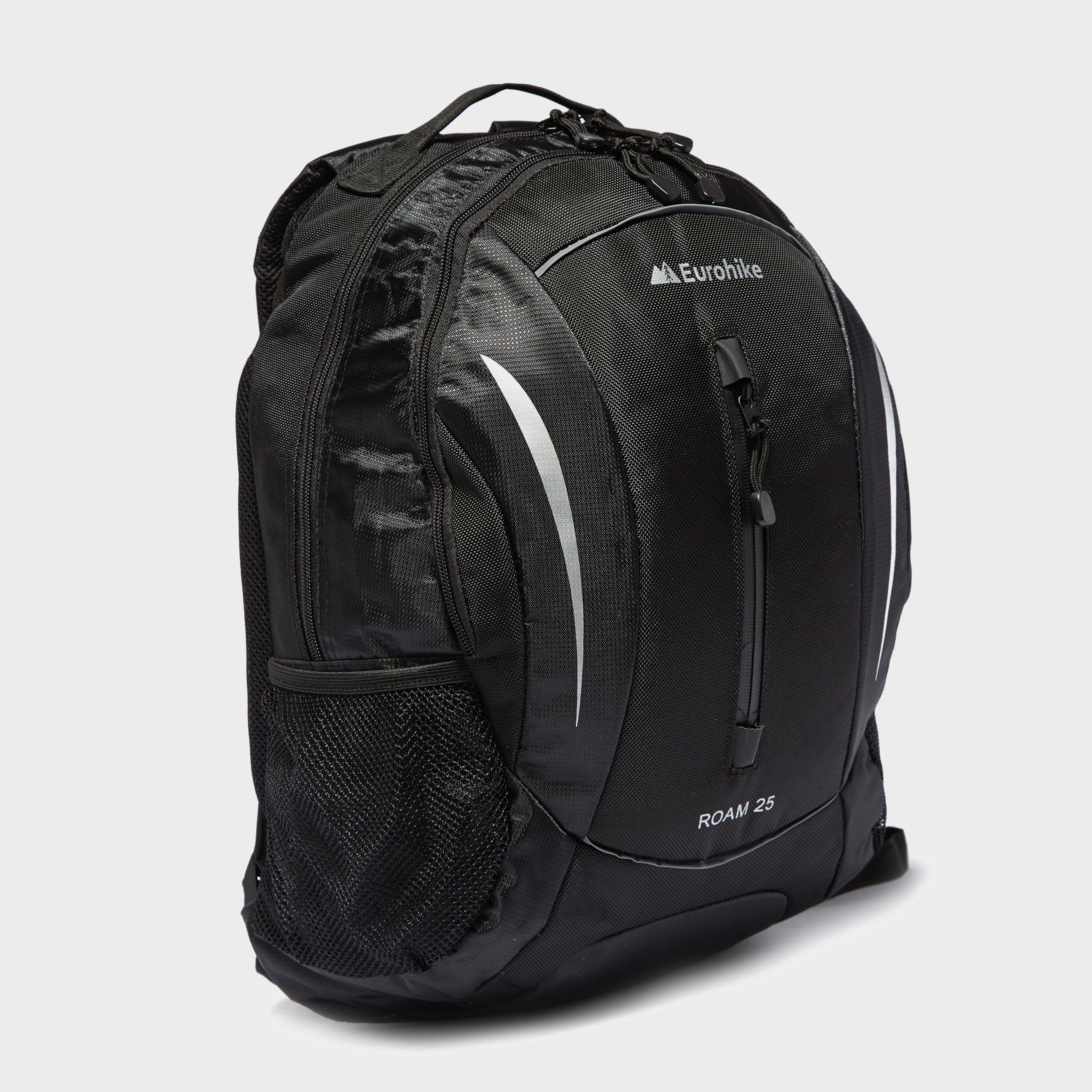 Eurohike Eurohike Roam 25L Daysack - Black, Black