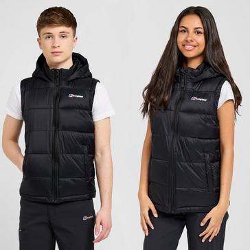 Black Berghaus Kid's Burham Gilet
