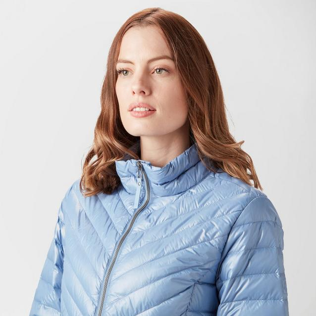 7f1b40b8dd8 Blue JACK WOLFSKIN Women's Vista Down Jacket image 4