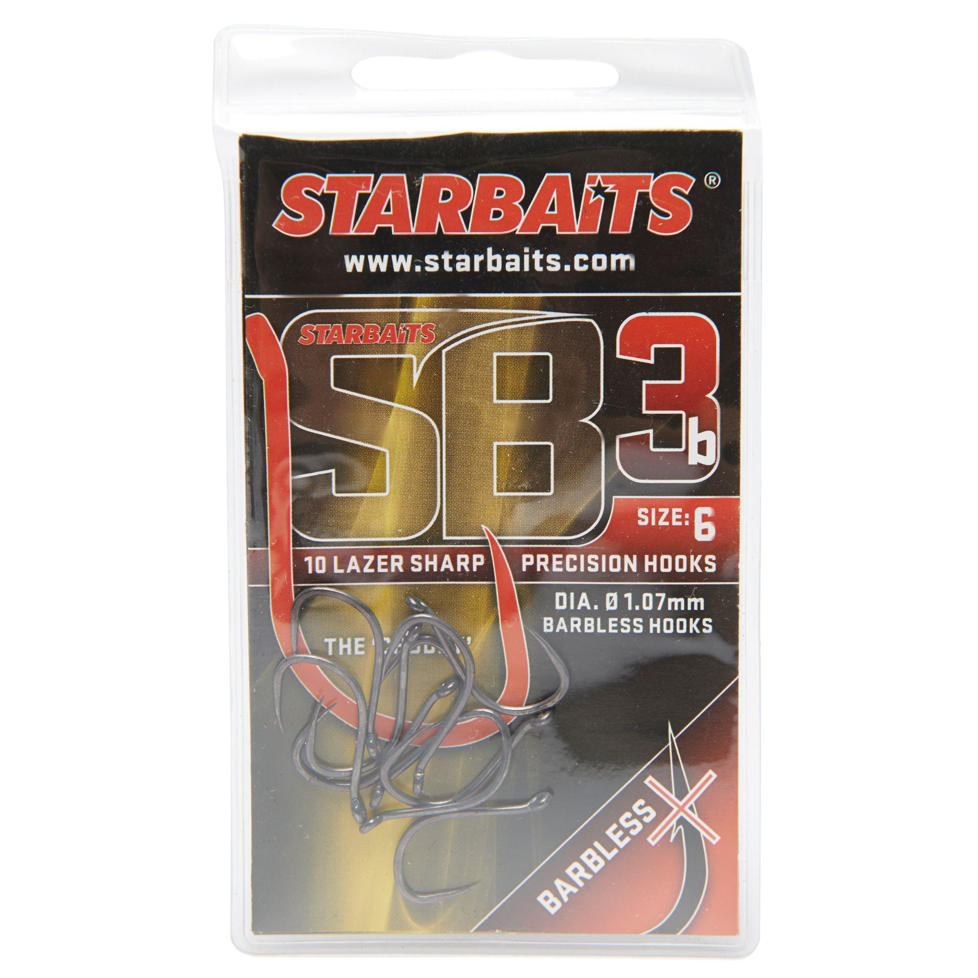 STARBAITS SB3 Hook No. 6