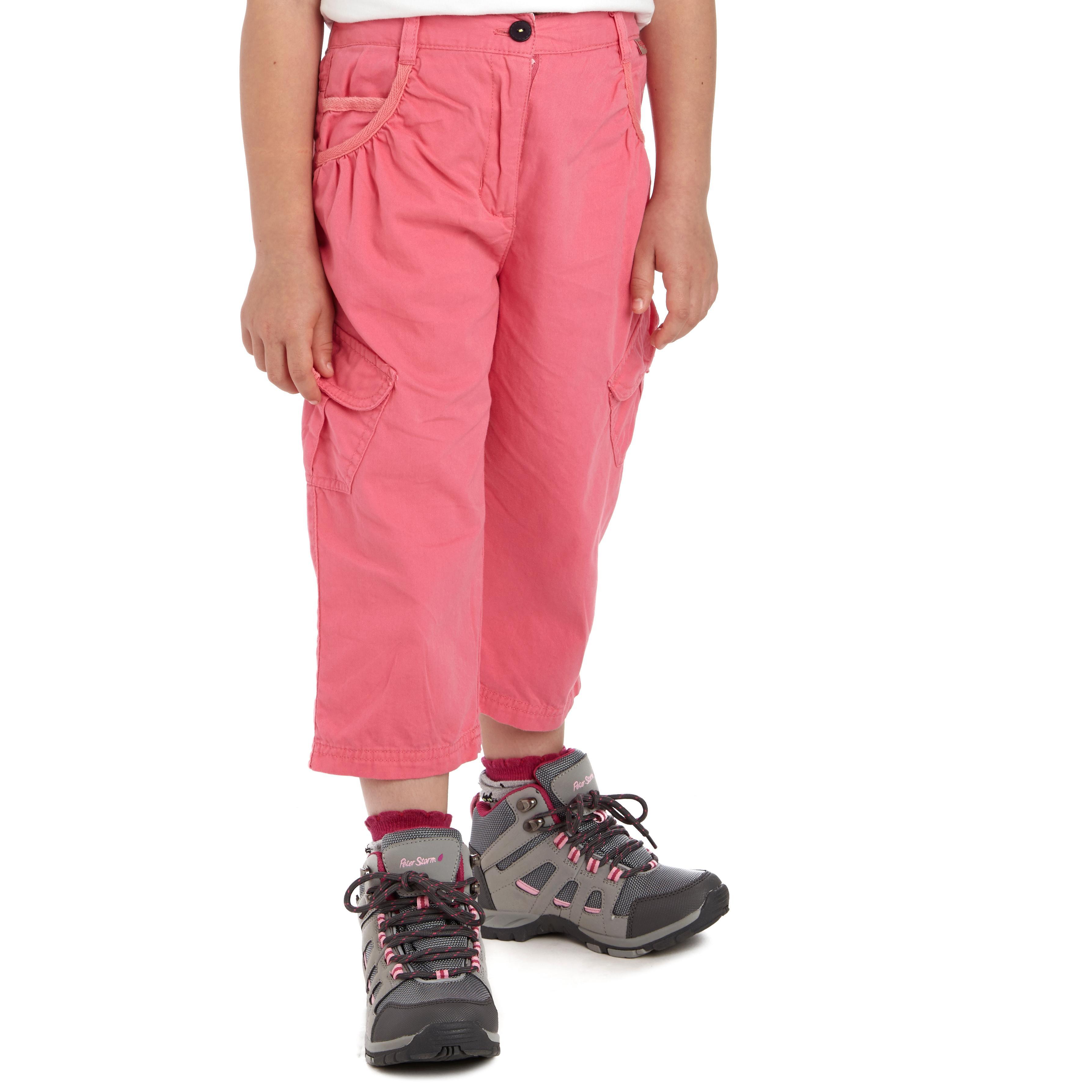 Image of Regatta Girls' Moonshine Capri Pants - Pink/Pink, Pink/Pink